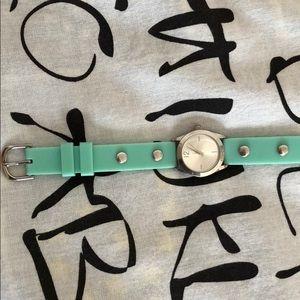 Accessories - 🌳Light green studded wraparound watch